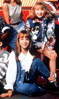 Britney Spears and Christina Aguilera - Mickey Mouse Club (1994)