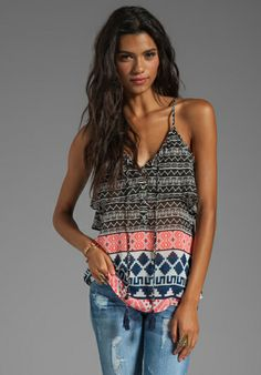 boho tank - loving the colors and patterns