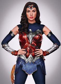 by BossArtX on DeviantArt Batman Wonder Woman, Wonder Woman Art, Gal Gadot Wonder Woman, Wonder Woman Cosplay, Wonder Woman Costumes, Wonder Women, Dc Comics Heroes, Dc Comics Art, Wonder Woman Pictures
