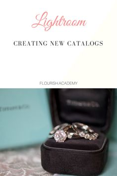 Lightroom Tutorial - Creating New Catalog How To  For: newborn, maternity, wedding, portrait, family, children photographers  Tips: Tools, tips, techniques, how-tos, and guides to help you grow into a better photographer and business  Join us at http://flourish.academy for more!
