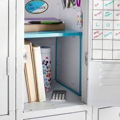Locker idea.... Getting a locker this year! Had a locker last year, and did NOT do a good job of keeping it organized.