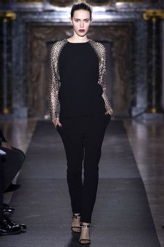 Anthony Vaccarello Fall 2013 Ready-to-Wear