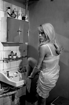 Catherine Deneuve - Repulsion A seriously interesting and fascinating film. With very little dialogue. A landmark film.
