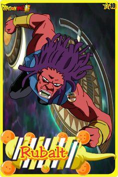 Rubalt- Team Universe 10. Dragon ball super