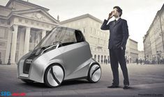 Audi Capsule is a small compact single seater concept transportation by Francisco Calado.