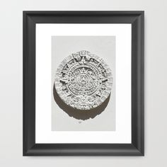 "Mandala SUN Framed Art Print The Scoop frame is made from solid wood with a contemporary, scooped profile measuring 1.06"" wide x 1.06"" deep. #mandala #design"