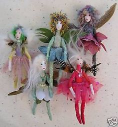 Various fairy doll patterns