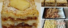 Recept Réteges bögrés-almás sütemény Krispie Treats, Rice Krispies, Mashed Potatoes, Banana Bread, French Toast, Food And Drink, Low Carb, Breakfast, Ethnic Recipes