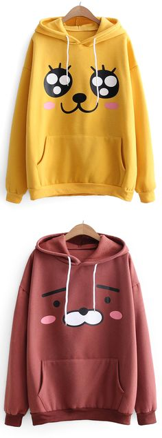 Up to 68% OFF! Oversized Drawstring Cartoon Hoodie. Zaful,zaful.com,tops,outfits,blouses,womens tops,sweatshirts,hoodies,hoodies outfit,hoodies for teens,sweatshirts outfit,sweatshirts for teens,winter outfits,sweatshirts for women,women's hoodies,womens sweatshirts,cute sweatshirts,floral hoodie,cropped hoodies,oversized sweatshirt, winter outfits,winter fashion, fall fashion, fall outfits,halloween costumes,halloween,halloween outfits,halloween tops. @zaful Extra 10% OFF Code:ZF2017