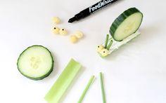 DIY Veggie Snail