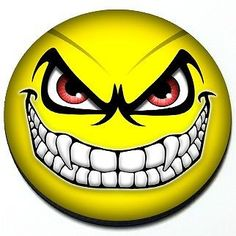 Evil Smiley Face - Angry Yellow Scary MINI Cooper Magnetic Grill Grille Badge   eBay Motors, Parts & Accessories, Car & Truck Parts   eBay!