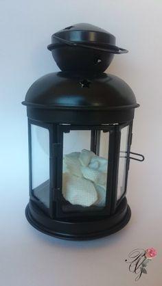 Lantern PAG phosphorescent Rose | Percsi Art Needlepoint
