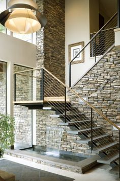 Mod stairs with nice water feature