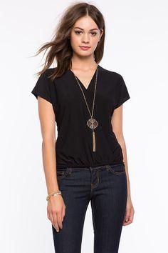Блуза Размеры: S, M, L Цвет: черный, зеленовато-голубой Цена: 1217 руб.  #одежда #женщинам #блузы #коопт
