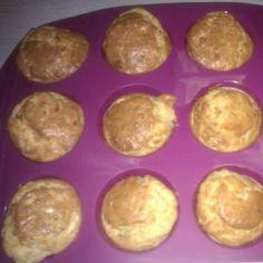Recette Muffins de courgettes, chèvre et gruyère par alegra63 - recette de la catégorie Entrées