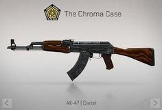 Counter-Strike Global Offensive: The Chroma Case: Ak-47 Cartel