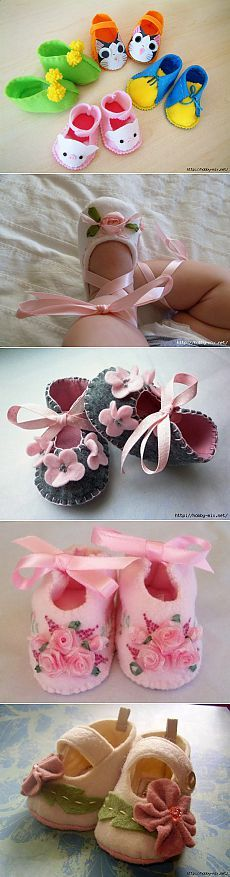 Cubre sus piecitos con tu imaginación.#DIY #Sew #Spring #Project #Shoes #Style #Designe #Singer #Kids #Ideas #Baby #Cute