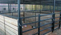 Metal Wrought Iron Horse Stalls