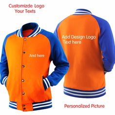 High Quality custom Sweatshirt plain LOGO DIY customized print Casual Sweatshirt Coat Brand Baseball Jacket-in Hoodies & Sweatshirts from Men's Clothing & Accessories on Aliexpress.com | Alibaba Group