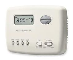 White-Rodgers 1E78-151 Digital 5/2 Day Programmable Vertical Thermostat with Energy Management Recovery, NA by White-Rodgers. $39.30. Digital 5/2 Day Programmable Vertical Thermostat with Energy Management Recovery and Lighted Display 70 Series thermostats are the height of residential single stage and heat pump applications. The perfect upgrade for mechanical thermostats, the 70 series will cover wall marks left by most mechanical models without the need for an extra wall plat...