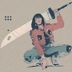 Daniel Isles AKA DirtyRobot& comic-style illustrations feature dynamic yet gentle linework and beautifully muted color palettes with a futuristic fiz. Character Concept, Character Art, Concept Art, Black Anime Characters, Female Characters, Arte Cyberpunk, Illustration Art, Illustrations, Character Illustration