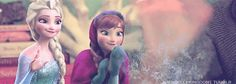 (gif) Anna and Elsa =]  I think Anna's facial expressions look a LOT like Rapunzel's in this...might just be me though.  @Grace Wobbrock  @Caitlin Painter @Dania M.