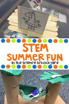"""This summer fun themed pack has children saying...""""llama"""" do that again! This pack includes three STEM stations that have engineers building a hammock for Llama, building a beach toy for Llama, and even building a floating device to keep Llama dry! """"Llama"""" help you add STEM fun to your day! Whether summer or need a winter pick me up! 5th Grade Science, Stem Science, Elementary Science, Science Activities, Summer Activities, Science Lessons, Science Stations, Next Generation Science Standards, Stem Learning"""
