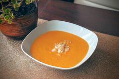 Fit & Fast Kitchen: Delikatna zupa krem z dyni