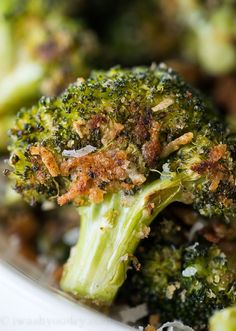 If you're looking for the next best Thanksgiving Vegetable Side Dish Recipes, give these TOP 5 Roasted dishes a try! Click each image to get to the respected recipe. There is even a recipe video for each recipe so you can easily see how quick these recipes are to make at home! Parmesan Roasted Brussels Sprouts Take the little green vegetable to the next level with this super easy and delicious recipe! Parmesan Roasted Broccoli - Broccoli takes on a whole new flavor when it's roasted. ...