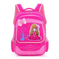 Russia Style Cartoon Princess Girls School Bags Children Waterproof Orthopedic Backpacks Boys Schoolbag Kids Satchel Mochila