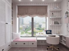 An inspiring and colorful collection of modern kids bedroom decor schemes, incorporating fun accessories and sleek contemporary style, to grow with them. Home Room Design, Kids Room Design, Room Interior Design, Home Office Design, Modern Kids Bedroom, Small Room Bedroom, Home Decor Bedroom, Futuristisches Design, Design Case