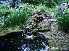 DIY:: {Inexpensive} Garden Pond! Excellent Tutorial