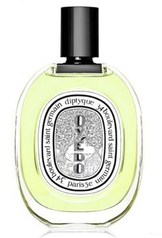 Oyedo Diptyque. Top notes are lime, mandarin orange, lemon and yuzu; middle note is thyme; base note is woodsy notes.