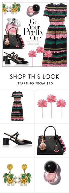 """Spring"" by cilita-d ❤ liked on Polyvore featuring Valentino, Prada and Dolce&Gabbana"