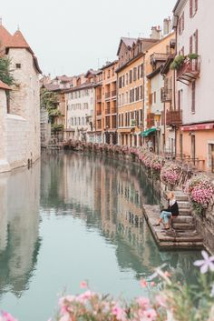 Discover the brightly colored seaside town of Villefranche-Sur-Mer through the lens of Julia Engel of Gal Meets Glam on her trip to the French Riviera. Oh The Places You'll Go, Places To Travel, Travel Destinations, Places To Visit, Annecy France, Villefranche Sur Mer, Cities, Ville France, Travel Aesthetic