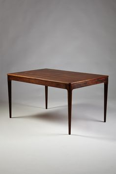 mogens kold brazilian rosewood dining table | 1960s | #vintage #1960s #home