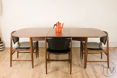 Vintage Retro Dining Table And 4 Chairs By Kofod Larsen Design For G Plan