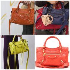 Mini city balenciaga bag Price   384 kd So colorful  8cf1d2fe3b45e