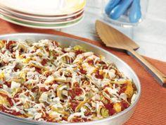 Pasta Pizza Pie | KitchenDaily.com