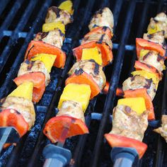 Homemade By Holman: Jerk Chicken Mango Kebabs