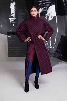 Photographer: Paavo Lehtonen MUAH: Piia Hiltunen Stylist: Shadi Razavi Model: Christina Shevelkova Turtle Sweaters, Red Moon, Light And Shadow, Duster Coat, Feminine, Leggings, Wool, Jackets, Collection