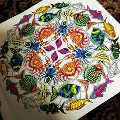 #LostOcean Page2 Ocean Mandala