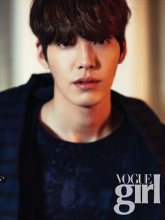 Kim Woo Bin returns in Vogue Girl. #KimWooBIn #VogueGirl