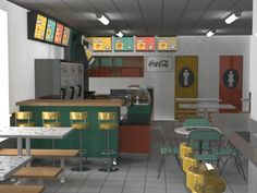 render de proyecto Safari Fast Food