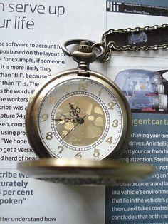 SALE 30% OFF Bronze Steampunk vintage pocket watch