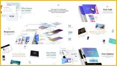Minimal Website Presentation by Nullifier on Envato Elements