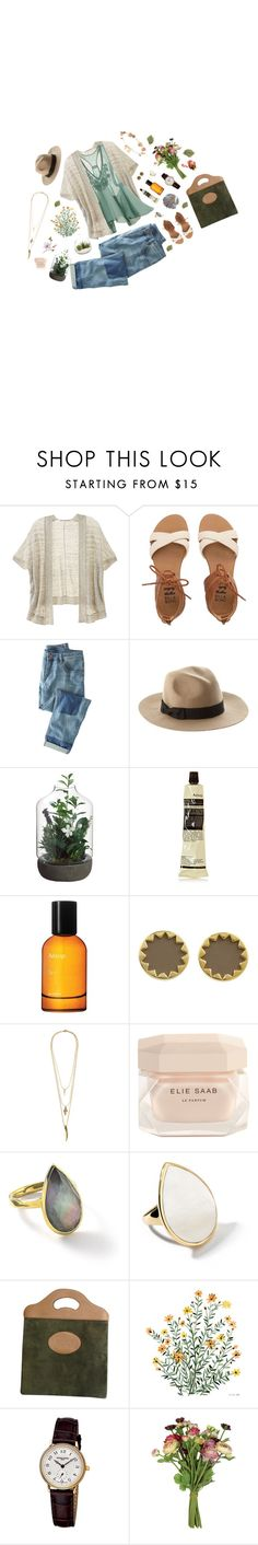"""Idyllic"" by jetra13 ❤ liked on Polyvore featuring Victoria's Secret, H&M, Billabong, Wrap, ASOS, Allstate Floral, Aesop, House of Harlow 1960, Lacey Ryan and Elie Saab"