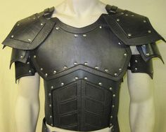 Juggernaut Leather Armor Chest, Back, and Shoulders. $349.99, via Etsy.