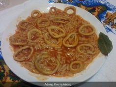 Συνταγές! Λάκης Κουταλάκης: Καλαμαράκια με μανέστρα