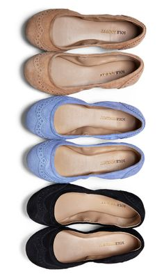 love these soft ballet flats in many colors.
